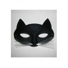 Loup chat angora noir