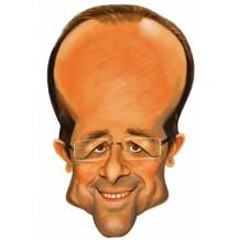 Masque carton François