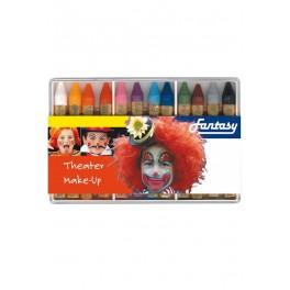 Boîte de 12 crayons gras maquillage