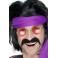 """Fausse moustache années 70 """"happy tash"""""""