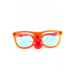 Lunettes clown avec nez rouge